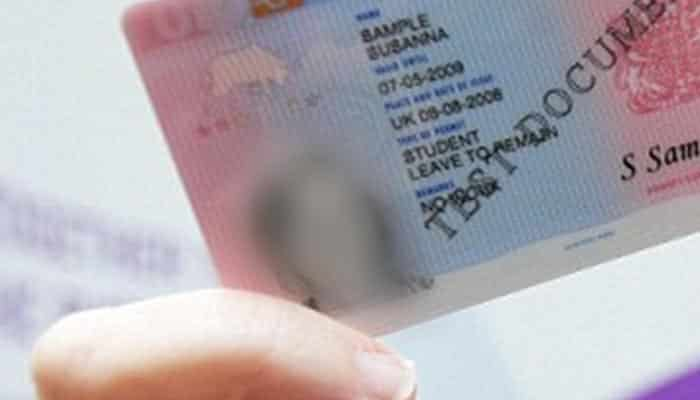 What is a Biometric Residence Permit?